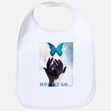 JUST LET GO BUTTERFLY Bib