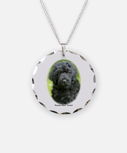 Russian Black Terrier 9T091D-030 Necklace