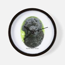 Russian Black Terrier 9T091D-030 Wall Clock