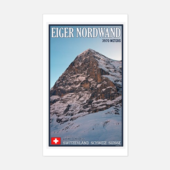 The Eiger Sticker (Rectangle)