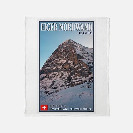 The Eiger Throw Blanket