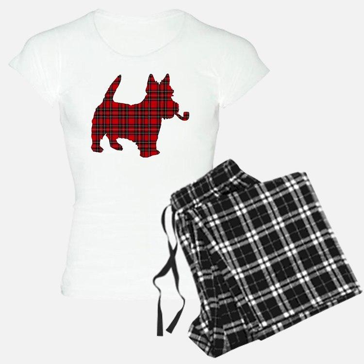 Scottish Terrier Tartan Pajamas