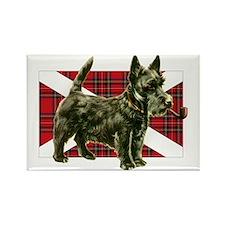 Scottie Scottish Terrier Rectangle Magnet