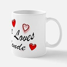 Everyone Loves A Blonde Mug