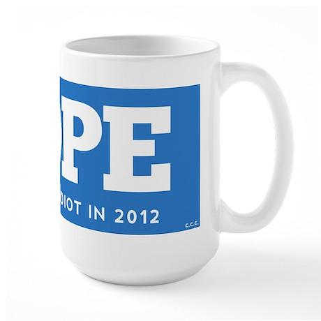 NOPE Large Mug