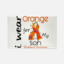 I Wear Orange 43 Leukemia Rectangle Magnet