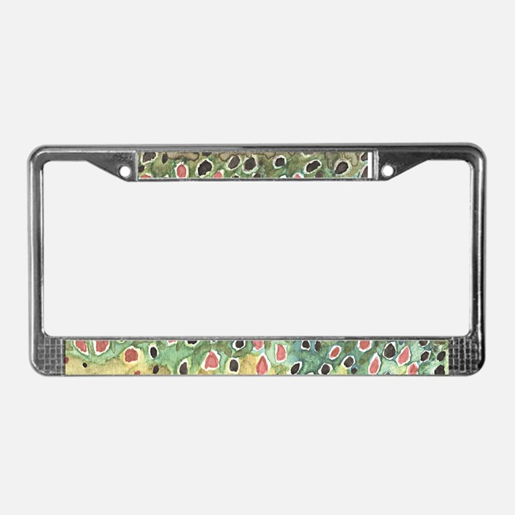 Fish licence plate frames fish license plate covers for Fishing license plate