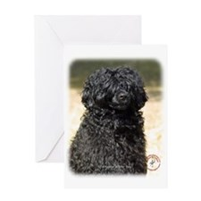 Portuguese Water Dog 9R016D-151 Greeting Card