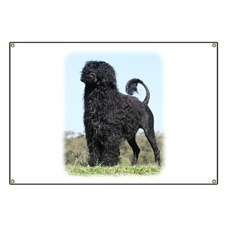Portuguese Water Dog 9Y510D-061 Banner