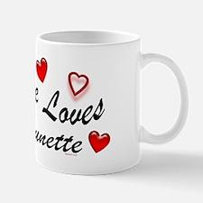 Everyone Loves A Brunette Mug