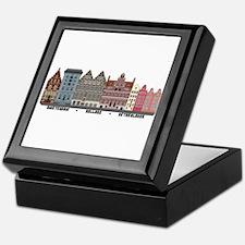 Amsterdam Netherlands Keepsake Box