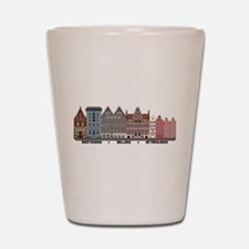 Amsterdam Netherlands Shot Glass