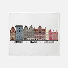 Amsterdam Netherlands Throw Blanket