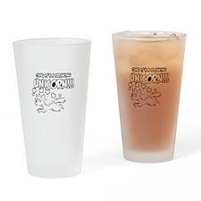 Freaking Unicorn Drinking Glass