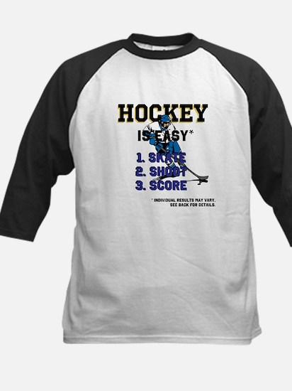 Hockey is Easy? Kids Baseball Jersey