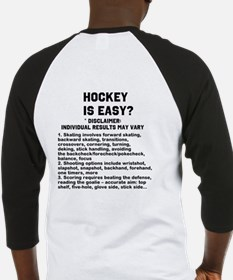 Hockey is Easy? Baseball Jersey