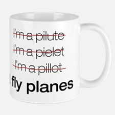 I fly planes Small Small Mug