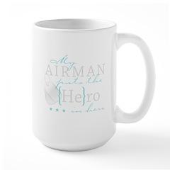 My Airman puts the He in Hero Mug