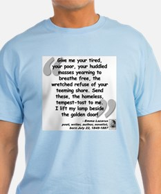 Lazarus Liberty Quote T-Shirt