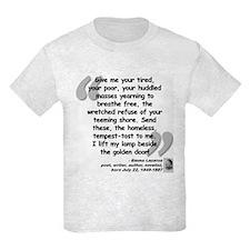 Lazarus Liberty Quote T-Shirt
