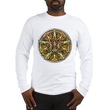 Lammas/Lughnasadh Pentacle Long Sleeve T-Shirt