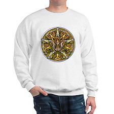 Lammas/Lughnasadh Pentacle Sweatshirt