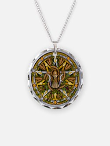 Lammas/Lughnasadh Pentacle Necklace
