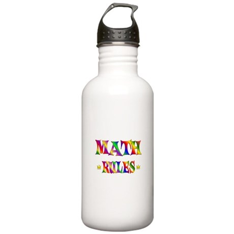 Math Rules Stainless Water Bottle 1.0L
