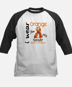 I Wear Orange 43 Leukemia Tee