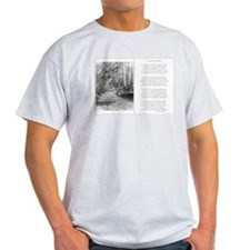 The Road Not Taken Ash Grey T-Shirt