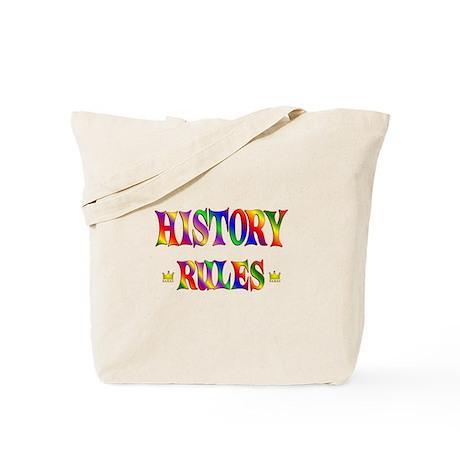 History Rules Tote Bag