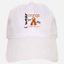 I Wear Orange 43 Leukemia Baseball Baseball Cap