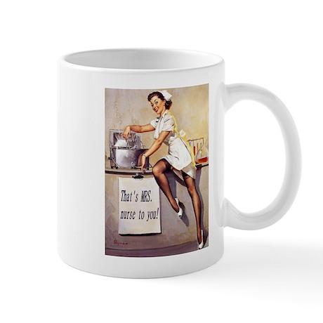MRS. Nurse Mug