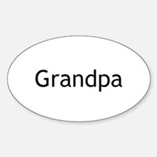 Grandpa Sticker (Oval)
