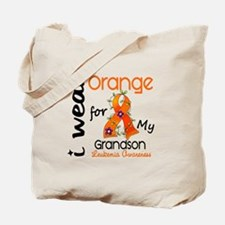 I Wear Orange 43 Leukemia Tote Bag
