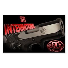 STI Rectangle Sticker 2