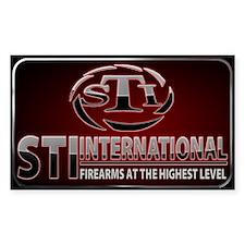 STI Rectangle Sticker 3