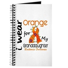 I Wear Orange 43 Leukemia Journal
