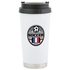 Live Love Soccer France Travel Mug