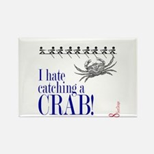 Catching a Crab 2 Rectangle Magnet