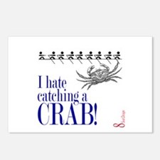 Catching a Crab 2 Postcards (Package of 8)
