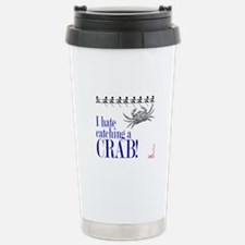 Catching a Crab 2 Stainless Steel Travel Mug