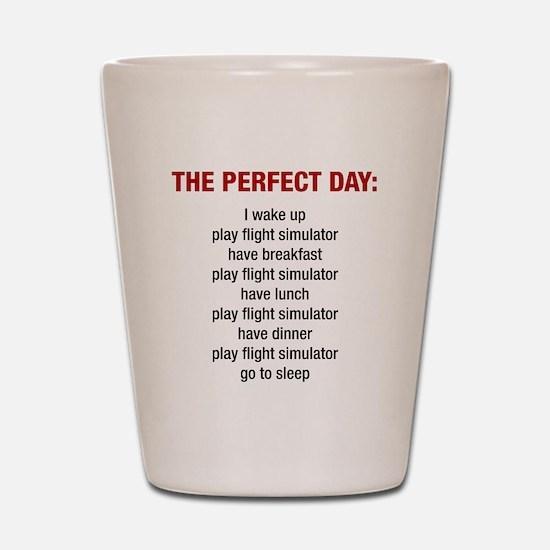 Perfect FS Day Shot Glass