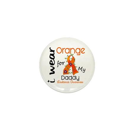 I Wear Orange 43 Leukemia Mini Button (10 pack)