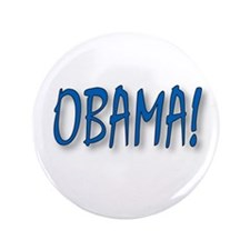 "Obama (zepher) 3.5"" Button (100 pack)"