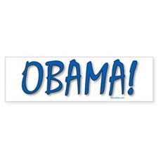 Obama (zepher) Bumper Sticker