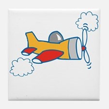 Big Airplane Tile Coaster