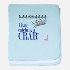 Catching a Crab 2 baby blanket