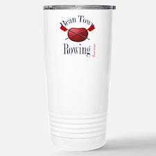 Bean Town Rowing 1 Stainless Steel Travel Mug