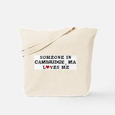 Someone in Cambridge Tote Bag